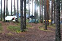 Учебные сборы, Финляндия(Лиекса). Лагерь. Вечер.