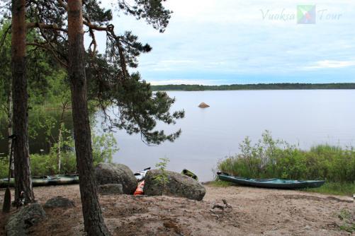 На фото: На одном из островов оз. Б. Градуевсое
