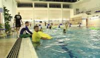 Школа русский сёрфинг. Тренировки в бассейне