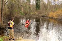 Осенние туры по малым рекам Карельского перешейка. Маршрут № 1