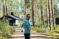 Август. Фристайл-сессия в Финляндии(Лиекса).