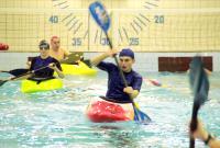 Тренировки в бассейне
