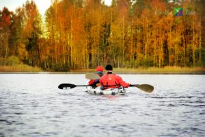 На фото: Золотая осень на оз. Любимовское