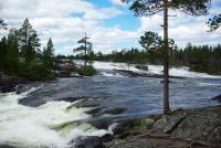 ШВЕЦИЯ, Piteälven (Trollforsarna), 2012.